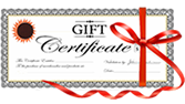 Travel Gift Certificates available!